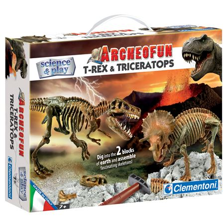 Picture of Dino Dig - T Rex & Triceratops
