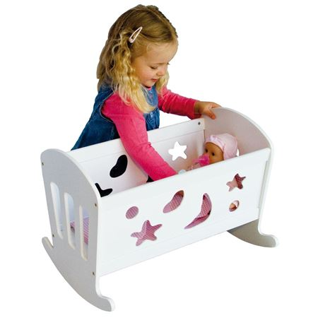 Picture of Wooden Rocking Star Cradle