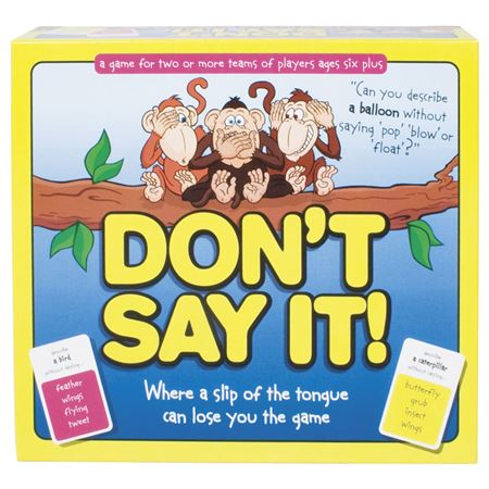 Picture of Don't Say It !