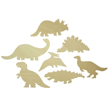 Picture of Drawing Templates - Dinosaurs