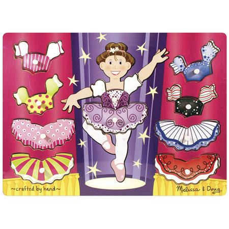 Picture of Ballerina Dress Up Peg Puzzle