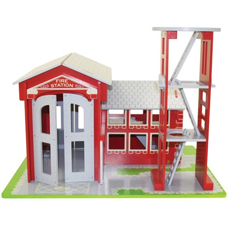 Picture of Fire Station with Tower Play Set