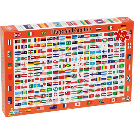 Picture of Flags & Capitals Jigsaw