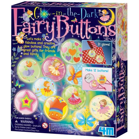 Picture of Glow in the Dark Fairy Buttons