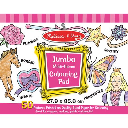 Picture of Jumbo Pads - Pink