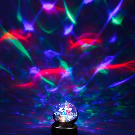 Picture of Kaleidoscope Rotating Lamp