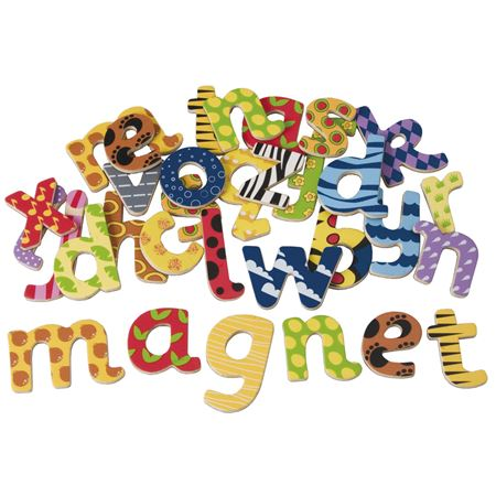 Picture of Magnetic Wooden Letters