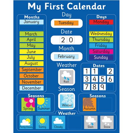 Picture of Magnetic Time & Calendar Bundle