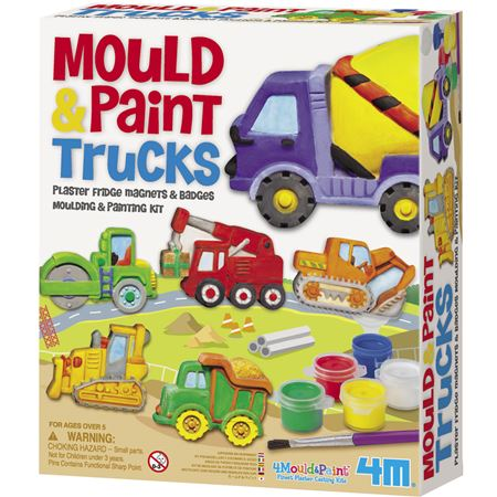 Picture of Mould And Paint Trucks