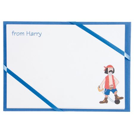 Picture of Named Cards - Pirate (Blue)