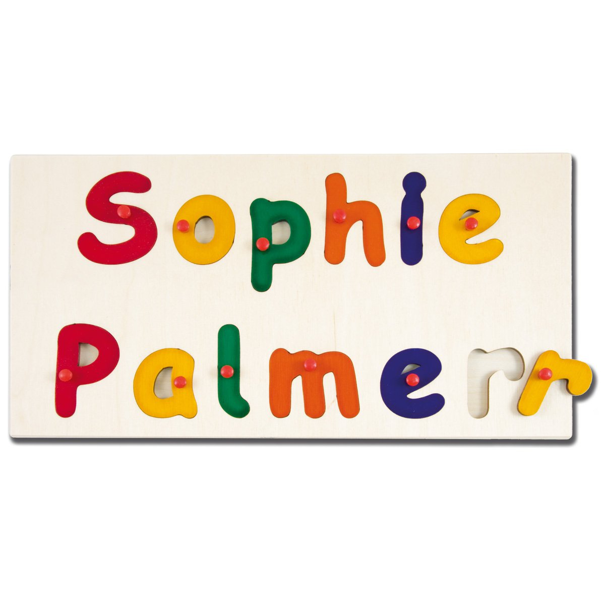 Toddler Name Puzzle Name Puzzle Wooden Name Puzzle Personalized Name Puzzle