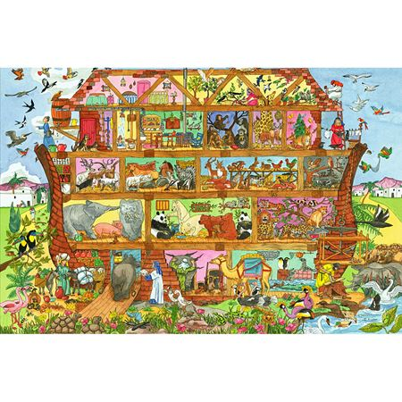 Picture of Noah's Ark Puzzle 24 pieces