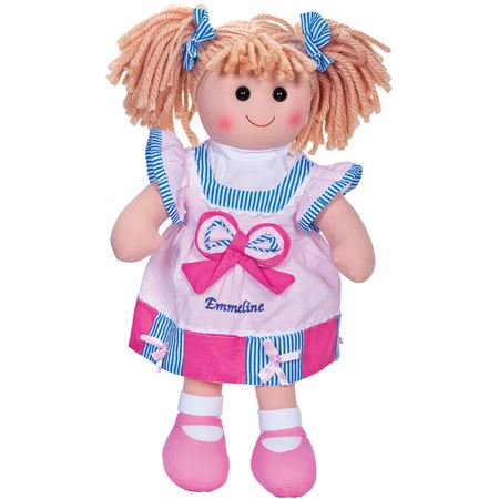 Picture of Personalised Rag Doll - Light Pink