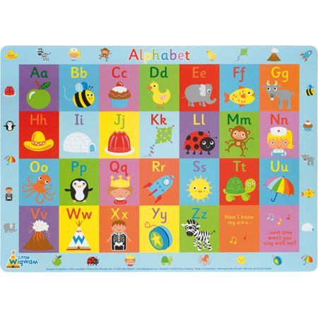 Picture of Alphabet Placemat