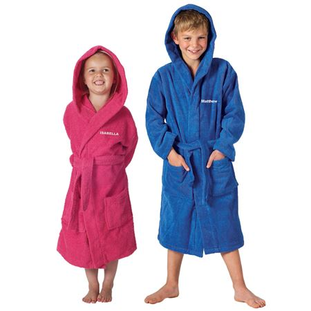 Picture of Towelling Bath Robe - Age 10