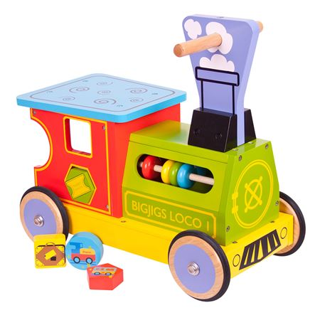 Picture of Train Ride-on Shape Sorter