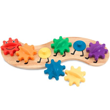 Picture of Wooden Caterpillar with Gears