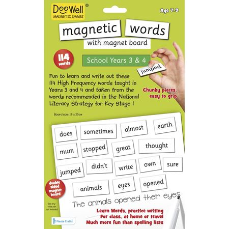 Picture of Magnetic Words & Board Years 3,4&5