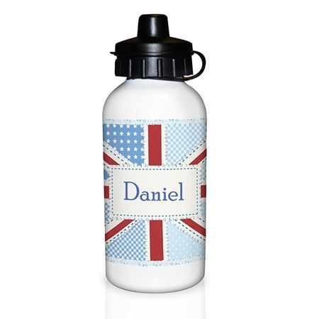 Picture of Drinks Bottle - Patchwork Union Jack