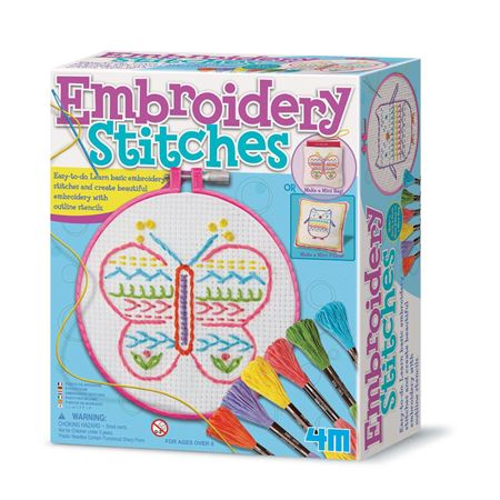 Picture of Embroidery Stitch Kit