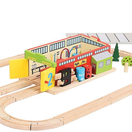 Picture of Train Service Shed