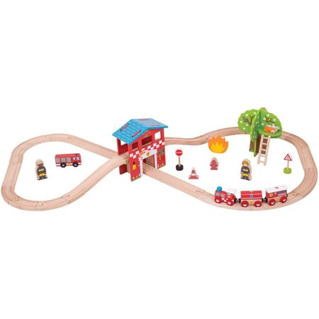Picture of Fire & Rescue Train Set