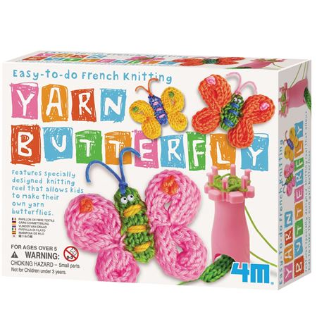 Picture of French Knitting Butterfly