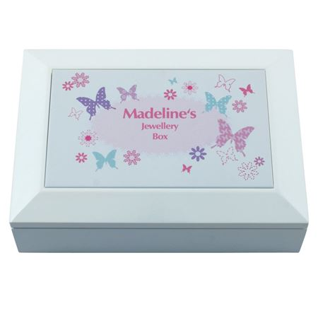 Picture of Butterfly Jewellery Box