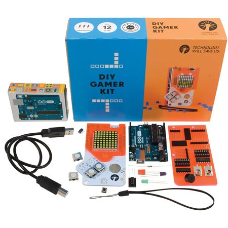 Picture of DIY Gamer Kit (with Arduino)