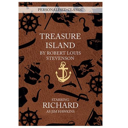 Picture of Treasure Island Novel