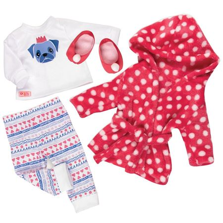 Picture of Snuggle Up Doll's Pyjamas