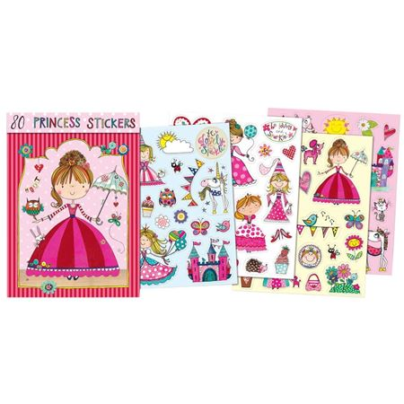 Picture of 80 Princess Stickers Book