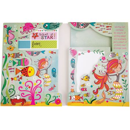 Picture of Mermaid Writing Set
