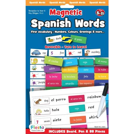 Picture of Magnetic Spanish Words