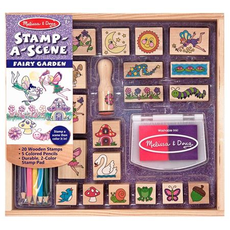 Picture of Stamp-a-Scene-Fairy Garden