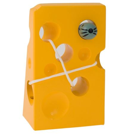 Picture of Cheese & Mouse on a String
