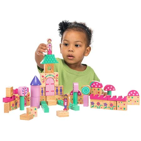 Picture of Themed Building Blocks - Fairytale