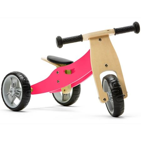 Picture of 2 in 1 Bike - Pink (Tricycle / Balance Bike)