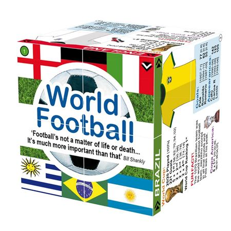 Picture of CUBE BOOK - World Football