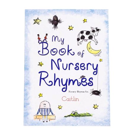 Picture of My Book of Nursery Rhymes - Personalised Book