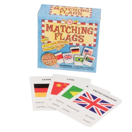 Picture of Matching Flags Game