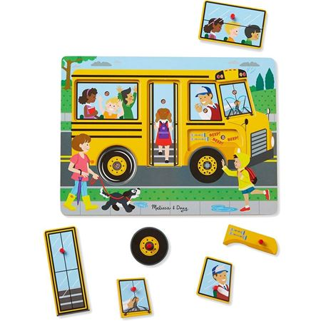 Picture of The Wheels on the Bus Sound Puzzle
