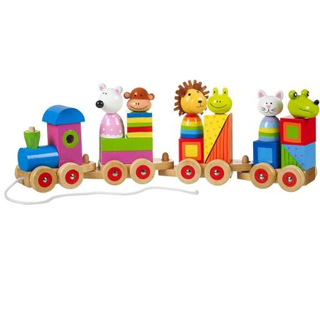 Picture of Animal Puzzle Train