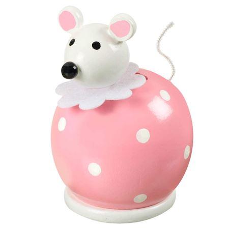 Picture of Pink Mouse Money Box