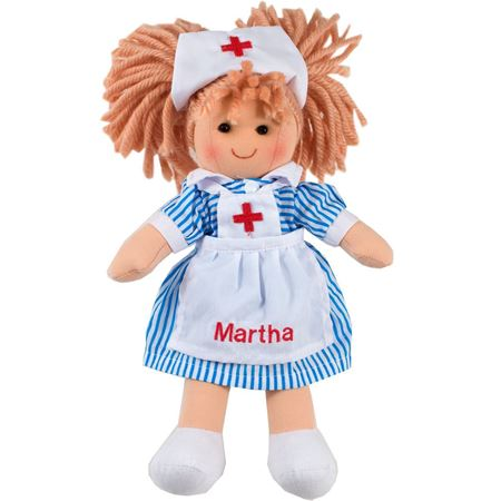 Picture of Personalised Nurse Nancy Doll