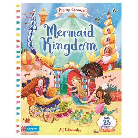 Picture of Mermaid Kingdom Pop-up Carousel