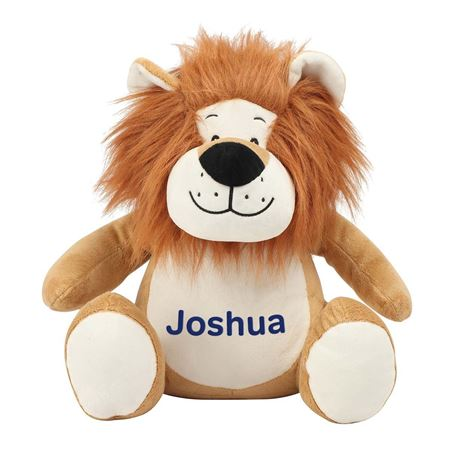 Picture of Personalised Lion Soft Toy