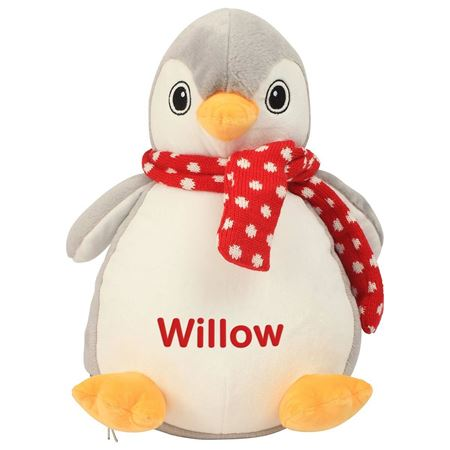 Picture of Personalised Penguin Soft Toy