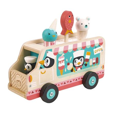 Picture of Penguin's Gelato Van