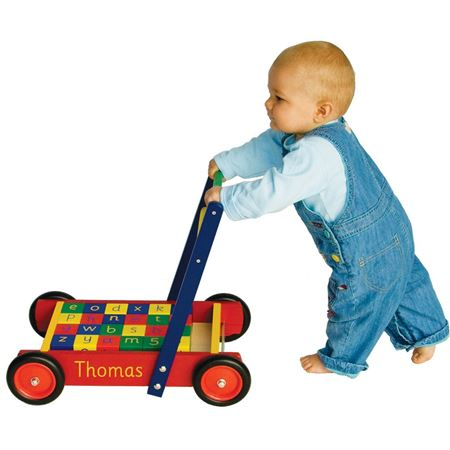 Picture of Baby Walker (with ABC blocks)
